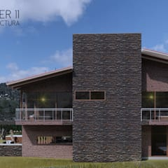 منزل ريفي تنفيذ Taller Once Arquitectura, إستعماري