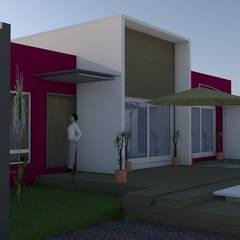 Дома на одну семью в . Автор – SOLUX Habitables, Минимализм