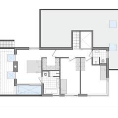 watervilla // Nieuwkoop Moderne slaapkamers van Studio FLORIS Modern