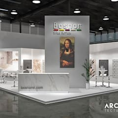 Idéobain & Bosnor: Salones de eventos de estilo  de Bosnor, S.L., Moderno