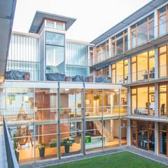 ConTerra Office in Münster:  Bürogebäude von if5-design GmbH,Modern Glas