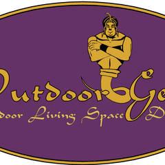 LOGOS:  Patios by Outdoor Genie, Minimalist