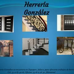 Terrace by herrería gonzalez, Rustic Metal