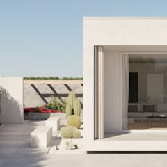 Villas by SP_A, Minimalist Concrete