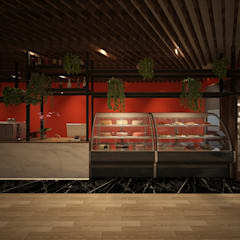 Gastronomy by Claire Interior Design & Building, Industrial