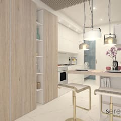 مطبخ تنفيذ serenascaioli_progettidinterni , حداثي