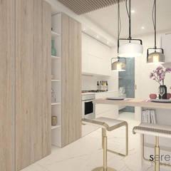 Cocinas de estilo  por serenascaioli_progettidinterni, Moderno