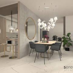 Comedores de estilo  por serenascaioli_progettidinterni, Moderno