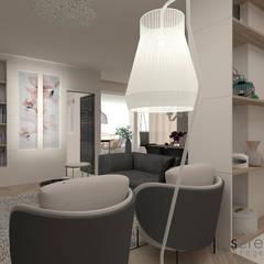 ห้องนั่งเล่น โดย serenascaioli_progettidinterni, โมเดิร์น