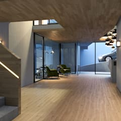 Ruta Capital de Light Syndrome Render Studio Moderno