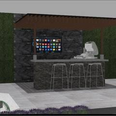 by Lammoglia Concept Studio- Terranova Landscaping Minimalist