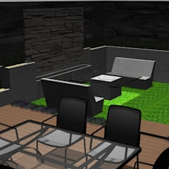 Rock Garden by Lammoglia Concept Studio- Terranova Landscaping, Minimalist