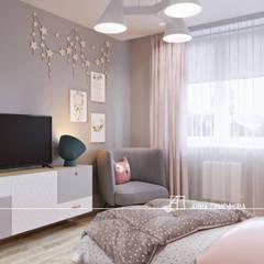 Dormitorios infantiles de estilo  por Частный дизайнер Анна Прыгунова, Industrial