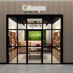 Shopping Centres توسطAUTANA estudio, مدرن کامپوزیت چوب و پلاستیک