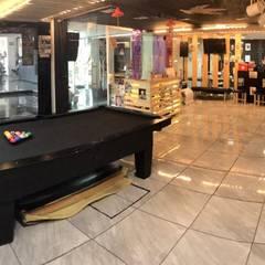 Diseño y Construcción de Barbería Vintage: Estudios y oficinas de estilo  por MSG Architecture SA DE CV, Clásico Madera Acabado en madera