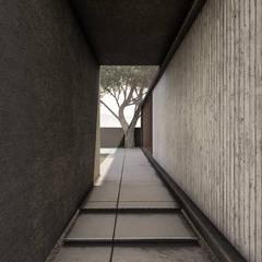 دار الرضوان Dar Al Ridwan:  الممر والمدخل تنفيذ Anastomosis Design Lab, تبسيطي