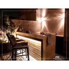 Jardines zen de estilo  por Micasa Design , Moderno Madera Acabado en madera