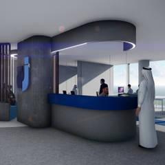 مكتب الجفالي Maktab Al Juffali من Anastomosis Design Lab حداثي