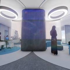 مكتب الجفالي Maktab Al Juffali:  مكاتب ومحلات تنفيذ Anastomosis Design Lab, حداثي