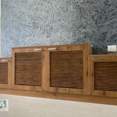Shoe Cabinet with Louvered Shutters: modern  by U and I Designs,Modern