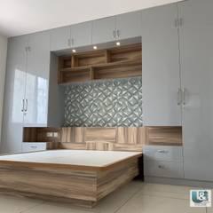 غرفة نوم تنفيذ U and I Designs , حداثي