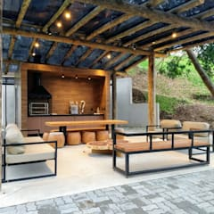 Terrace by Jacqueline Fumagalli Arquitetura & Design, Country