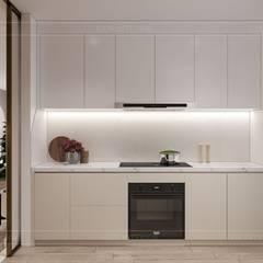 Nội thất phong cách tối giản Minimalism:  Nhà bếp by ICON INTERIOR, Tối giản