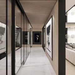 POWER OF DESIGN   I   Wnętrza domu Nowoczesny korytarz, przedpokój i schody od ARTDESIGN architektura wnętrz Nowoczesny