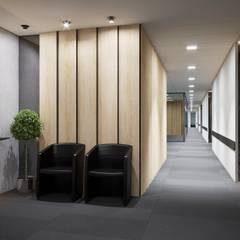 Интерьер офисного здания в г. Пенза *Modernism*: Офисные помещения в . Автор – Дизайн - Центр, Модерн
