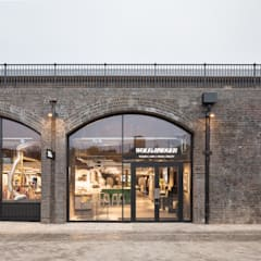 Wolf & Badger Industrial style shopping centres by Fraher and Findlay Industrial