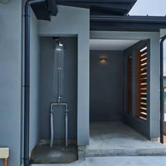 منزل عائلي صغير تنفيذ tai_tai STUDIO , ريفي