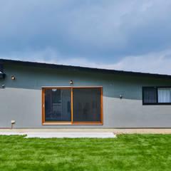 Oami Structure: tai_tai STUDIOが手掛けた木造住宅です。,ラスティック