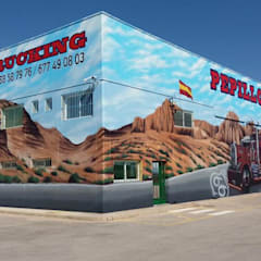 Taruga Creaciones의  벽, 인더스트리얼