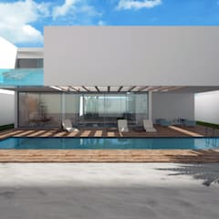 Marassi Villas A por Studio Toggle Porto, Lda Moderno