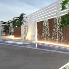 Landscape design | Reyna, Uptown Cairo من Saif Mourad Creations حداثي