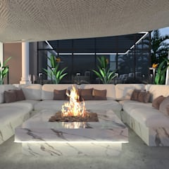 :  Garden by Saif Mourad Creations, Modern
