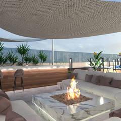 Taman Modern Oleh Saif Mourad Creations Modern