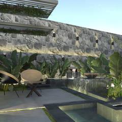 Landscape design |Terencia, Uptown Cairo من Saif Mourad Creations حداثي