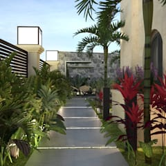 Landscape design  Terencia, Uptown Cairo by Saif Mourad Creations Modern