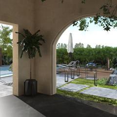 Landscape design  Terencia, Uptown Cairo Modern Garden by Saif Mourad Creations Modern