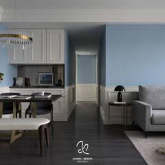 اتاق نشیمن توسط成綺空間設計, کلاسیک
