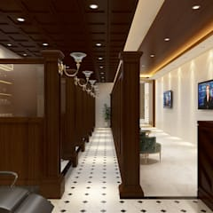 Commercial Spaces توسطAntelope Studio, کلاسیک چوب Wood effect