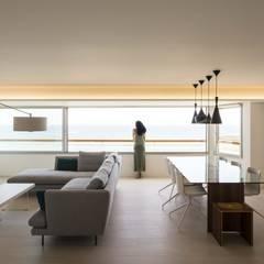 Balkon door yuû arquitectura, Mediterraan Glas