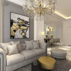 CH House: Ruang Keluarga oleh Antelope Studio, Klasik