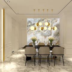 CH House Ruang Makan Klasik Oleh Antelope Studio Klasik