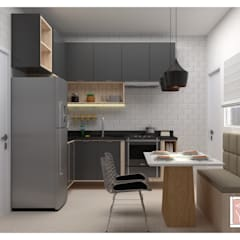 Kitchen units by Arty Arquitetura, Industrial MDF