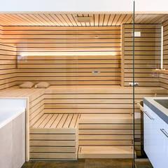 Sauna by KOERNER SAUNABAU GMBH, Rustic