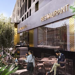 BOHO | El Teseen road, Fifth settlement:  Commercial Spaces by Saif Mourad Creations, Modern