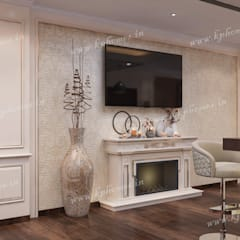 Media room by Kphomes, Colonial
