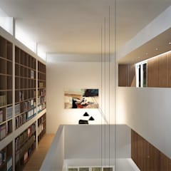 : Oficinas de estilo  por RRA Arquitectura, Minimalista Madera Acabado en madera